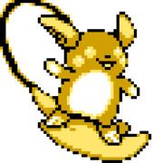 【ポケモン】初代ドット絵風アローラライチュウ