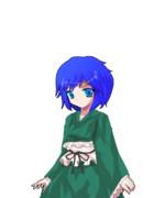 わかさぎ姫の仮装