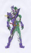 オリジナル/仮面ライダージャグラー/オープンディアボロリング