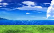 夏、海、空