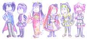 【UTAU】全力バタンキュー【おそ松さんトレス】