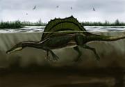 Spinosaurus 沼の漁竜