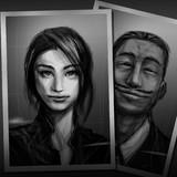 クトゥルフ神話TRPGシナリオ:「ホテルで夕食を」NPC顔写真