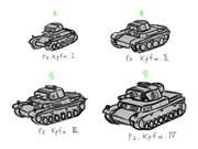 ドイツ戦車 適当②