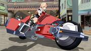 夕立さんは新しいバイクを手に入れました【ぽんぷ長式夕立】