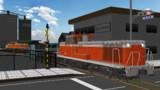 【配付】DE11型ディーゼル機関車【MMD鉄道】