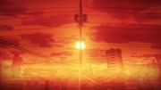 【MMD風景画祭】緋色に沈む街