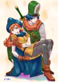 アリーナとクリフト