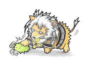 マリモ提督と武蔵子ライオン