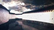 長い壁ステージ