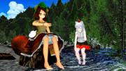【幻想郷の夏休み】マミゾウさんと椛さんの夏休み