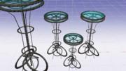 【MMDアクセサリー配布あり】椅子もしくはテーブル