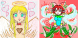 【黒歴史暴露大会】10年以上前に描いた天使ちゃん&妖精ちゃん