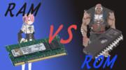 RAM姉 VS ROM爺