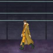 Pandora's Actor, walking