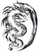 ラクガキ ドラゴン