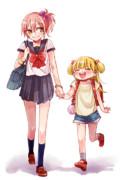 中学生お姉ちゃんと小学生莉嘉ちゃん