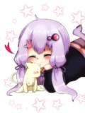 子猫と幼いゆかりさん