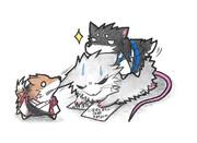 ネズミ提督と赤城犬と加賀犬