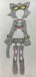 ヒーローバンク19話でハナちゃんが着てたシャドーキティコスプレ