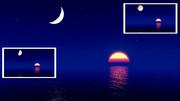 【MMDステージ配布】月と太陽 TF8【スカイドーム】