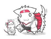 ネズミ提督と翔鶴ネコ