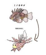 翼のある魚