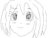 1分で平沢唯を描いてみた