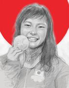 登坂絵莉選手金メダルおめでとう