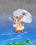 迷走する台風10号