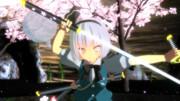 【MMD静止画】すけ式妖夢で千本桜 その2