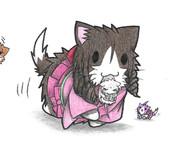 ネズミ提督と春風ネコ