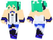 【Minecraft】初音ミク の スキンサンプル【TYPE2020】