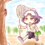 夏休みを満喫する奏ちゃん