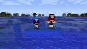 [Minecraft]吹雪改二(法被mode有り)&水無月スキン[配布]