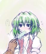 幽香さんとアイス