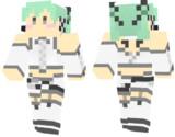 【Minecraft】初音ミク の スキンサンプル【エールダンジュ】