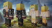 【Minecraft】 テイルズ アイゼン エドナ【旧verスキン】