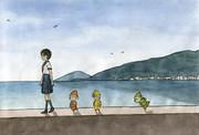 小人のいる港町