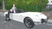 トヨタ2000GT オープンモデル、配布します。