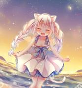 【 夏の夕暮れ 】