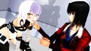 【Fate/MMD】おかあさんの私室への侵入を見咎めたジャックちゃんをアイスで懐柔する両儀さん
