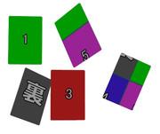 【テクスチャは自前で】UVモーフ入りカード【改造必須】