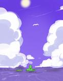 夢を見た島