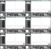 刀剣三条っぽいMMD用UIカラーファイル配布