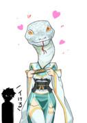 清姫ちゃんへびおこかわいい