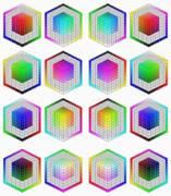 色立体 (8つの頂点)