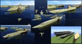 【Minecraft】BFF艦隊&汎用船体配布