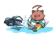 球磨対潜水艦