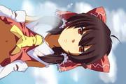 ひざまくら霊夢さん